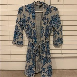 Patterned robe